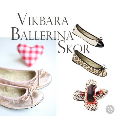 Utgivningsdatum: gratis frakt kvalitetsdesign VIKBARA BALLERINA SKOR! - Nyheter